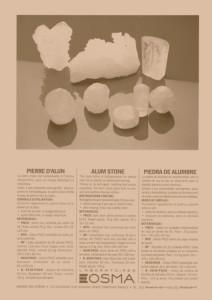 Pierre d'alun déodorant naturel