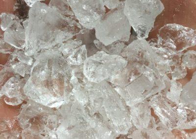 Cristal d'alun naturel