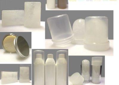 Fabrication de pierres d'alun à façon