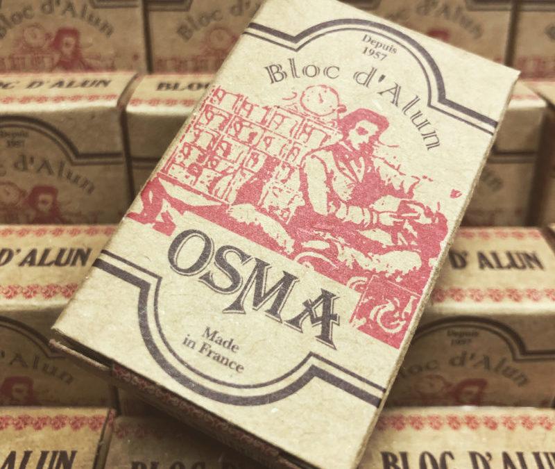 La Pierre d'alun depuis 1957 : Le Bloc Osma