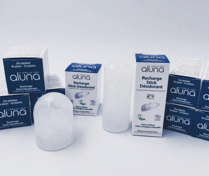 Aluna : Les recharges 0 plastique sont là