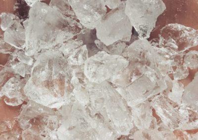 Pierres d'alun cristal