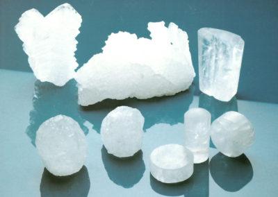 Une offre complète de pierres d'alun