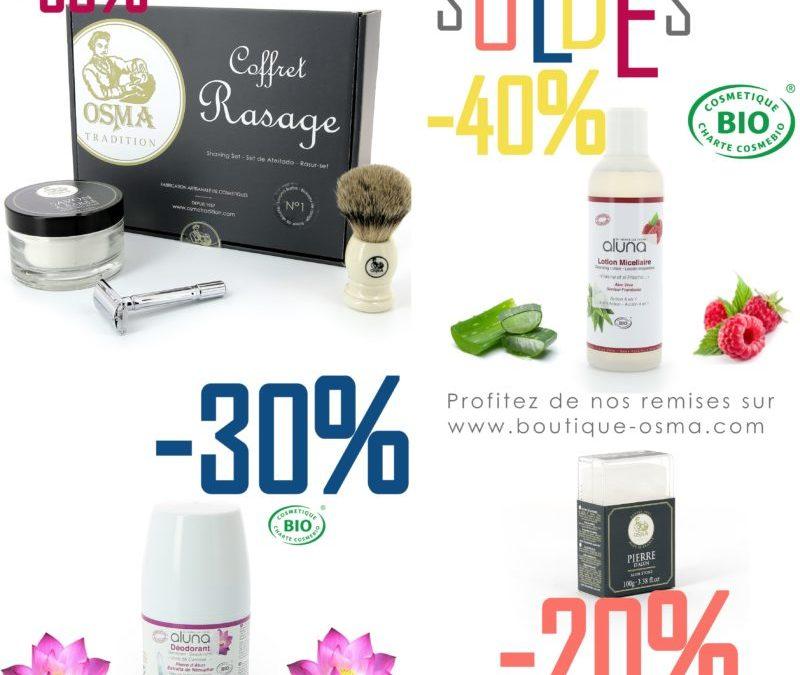 SOLDES sur www.boutique-osma.com